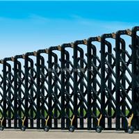 厂家供应铝型材伸缩门黑皇冠