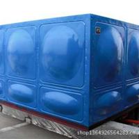 供应内蒙通辽赤峰烤漆式蓝色玻璃钢水箱