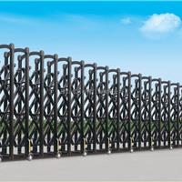 专业生产豪华铝型材电动伸缩门