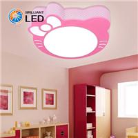 LED吸顶灯公主房间kitty猫卡通儿童房灯