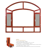 美观大方佛山罗兰德式门窗供应85