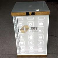 供应苹果镀金方形转角柜