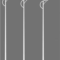 扬州弘旭专业生产9米道路灯中杆灯led路灯