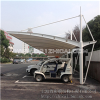 供应膜结构车棚定做/膜结构车棚安装