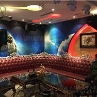 供应KTV装修壁画 酒吧壁纸 星空夜空壁画