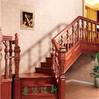 供应普洛瑞斯L形实木楼梯|家庭楼梯