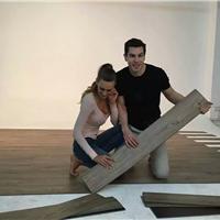 PVC塑胶地板.片材   锁扣.木纹. 石纹.卷材
