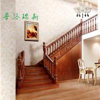 普洛瑞斯为您打造各种风格实木楼梯