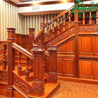 供应普洛瑞斯别墅楼梯|高档实木楼梯