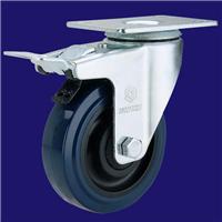 供应中型聚氨酯脚轮 厂家脚轮