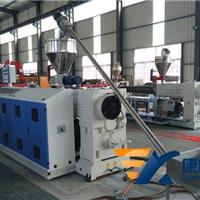 供应PVC木塑橱柜板生产线_木塑家具板生产线