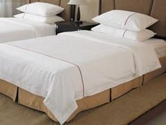 北京酒店纯棉床单被罩等批发订制厂家