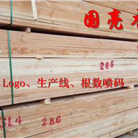 铁杉花旗松落叶松建筑工程木方脚手板跳板