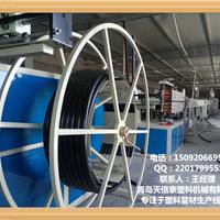 供应PE管材生产线,山东青岛HDPE管材设备