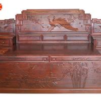 红木家具、花枝、床、生活用品、红酸枝木