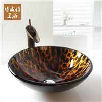 钢化玻璃洗手盆卫生间台上盆创意艺术盆
