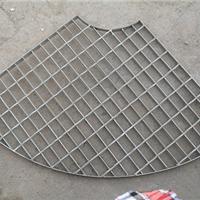 定做平台拼接圆形|扇形异形钢格板 格栅板