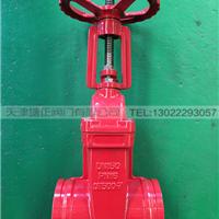 TF/塘正 供应全国 消防认证沟槽明杆闸阀3c