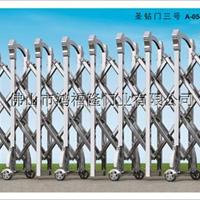 供应不锈钢精抛伸缩门A052-A053-A054