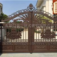 东易门业供应铸铝欧式,中式庭院门