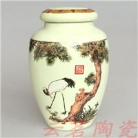 厂家供应景德镇陶瓷茶叶罐
