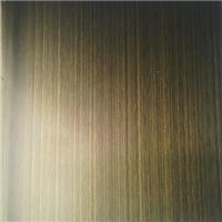 不锈钢发黑古铜拉丝板手工黑拉丝板最新工艺