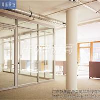 赫高隔断|赫雷帝斯-明框108|玻璃办公隔墙