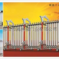 供应学校或机关单位铝型材伸缩门