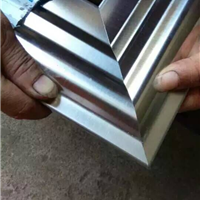 七彩锯片不锈钢门框45度双头切角机