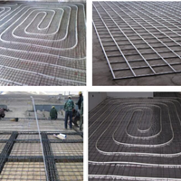 2.5mm地面铺设网片适用于建筑地板采暖使用
