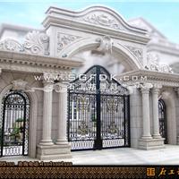 供应别墅石材大门/豪华浮雕大门