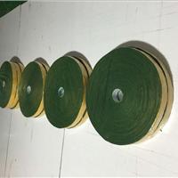 供应5公分宽绿绒包辊带