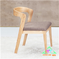 扬韬日式实木餐椅|水曲柳布艺软包椅子