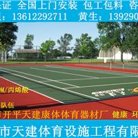 供应学校户外运动场地篮球场硅PU球场材料