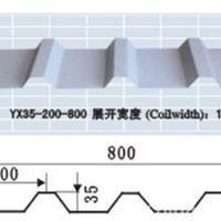 供应YX35--200-800彩钢压型板铝镁锰板