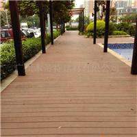 木塑140H25A空心塑木地板户外生态木塑木