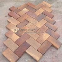 供应窑变砖彩色烧结砖渐变色砖幻彩色陶土砖