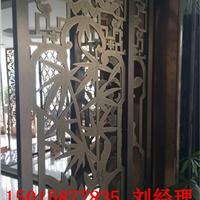 南京豪装精品 中式玫瑰金屏风 不锈钢格子
