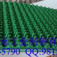耐磨 绿色花纹输送带厂家自销