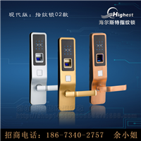 智能指纹锁厂家 至少每年5款产品开发