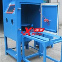 供应模具喷砂机|推车转盘式手动喷砂机