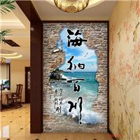 供应3D艺术瓷砖背景墙玄关3D艺术影视墙