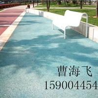扬州透水混凝土园林路面