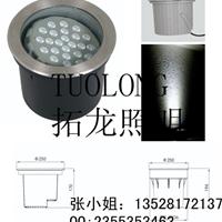 供应24W偏光可调角度埋地灯 LED柱子照明