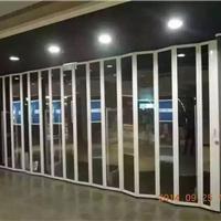 海南水晶折叠门、 铝合金水晶折叠门