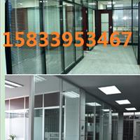 供应石家庄钢化玻璃隔断门安装