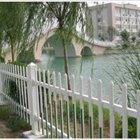 供应新农村建设专用栏杆PVC塑钢材料蓝白色