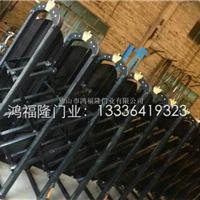 长期供应铝型材豪华电动伸缩门