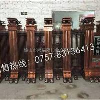 专业生产鸿福隆铝型材豪华电动门09
