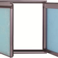 全铝衣柜 橱柜 晶钢门铝材批发